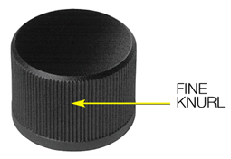 Fine Knurl on 3000 Series